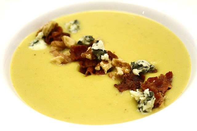 BBB soup = butternut, bacon & blue cheese
