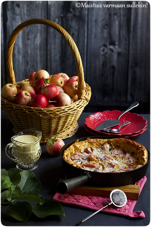 Maisemakahvilan Omenapiirakka